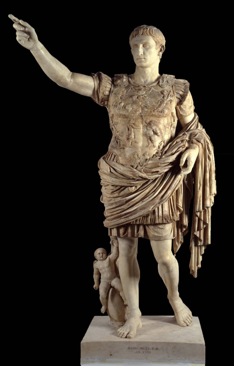 Augustus from Prima Porta - Vatican Museums