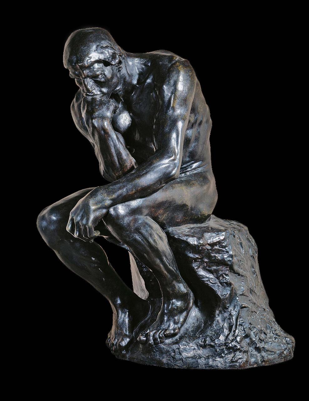 Très Auguste Rodin, Le Penseur - Vatican Museums SA53