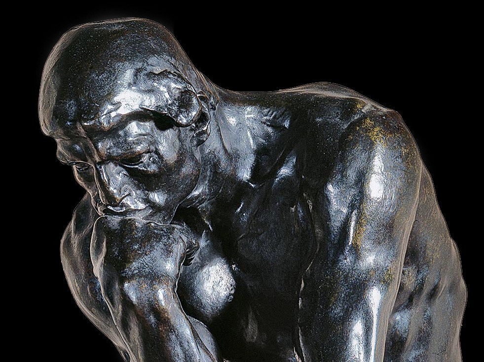 Auguste rodin le penseur vatican museums - La porte de l enfer rodin ...