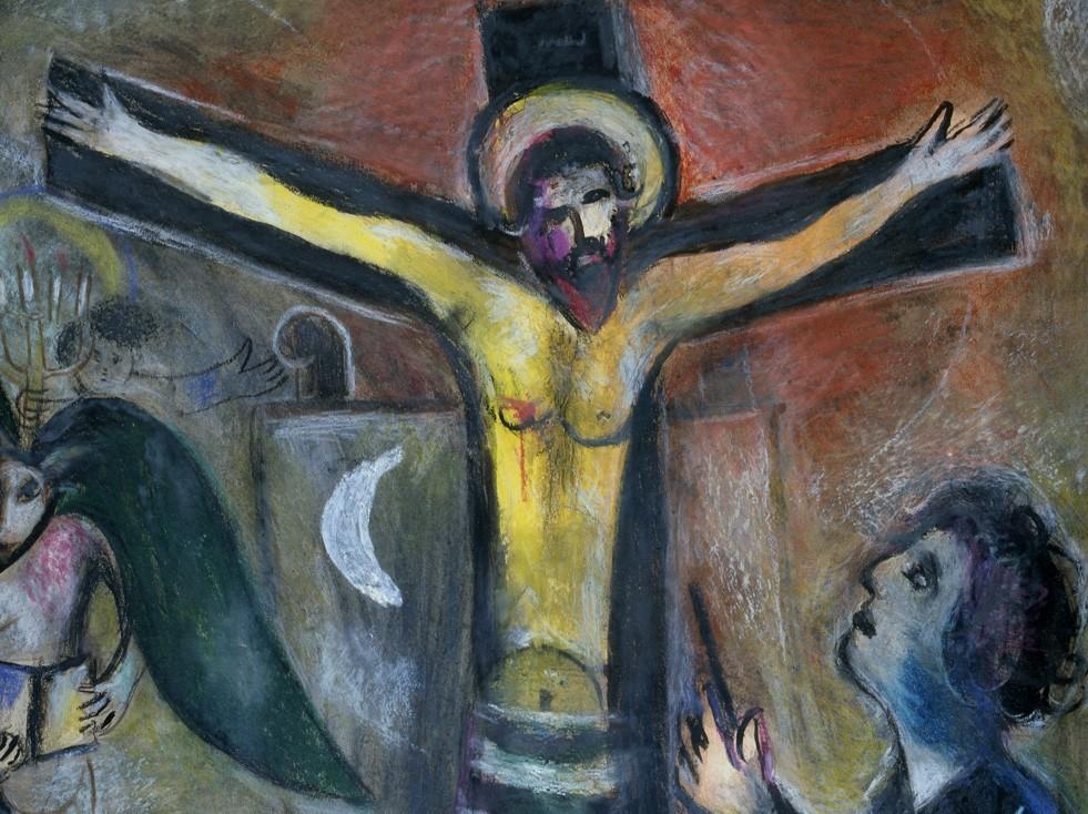 marc chagall le christ et le peintre mus es du vatican. Black Bedroom Furniture Sets. Home Design Ideas