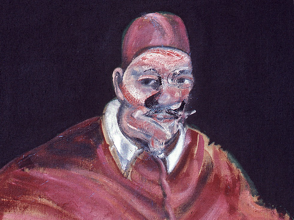 francis bacon study for velazquez pope ii vatican museums