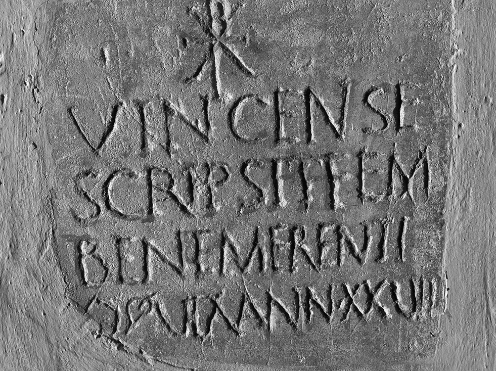Epitaph Of A Woman With Symbols Of Christ Vatican Museums