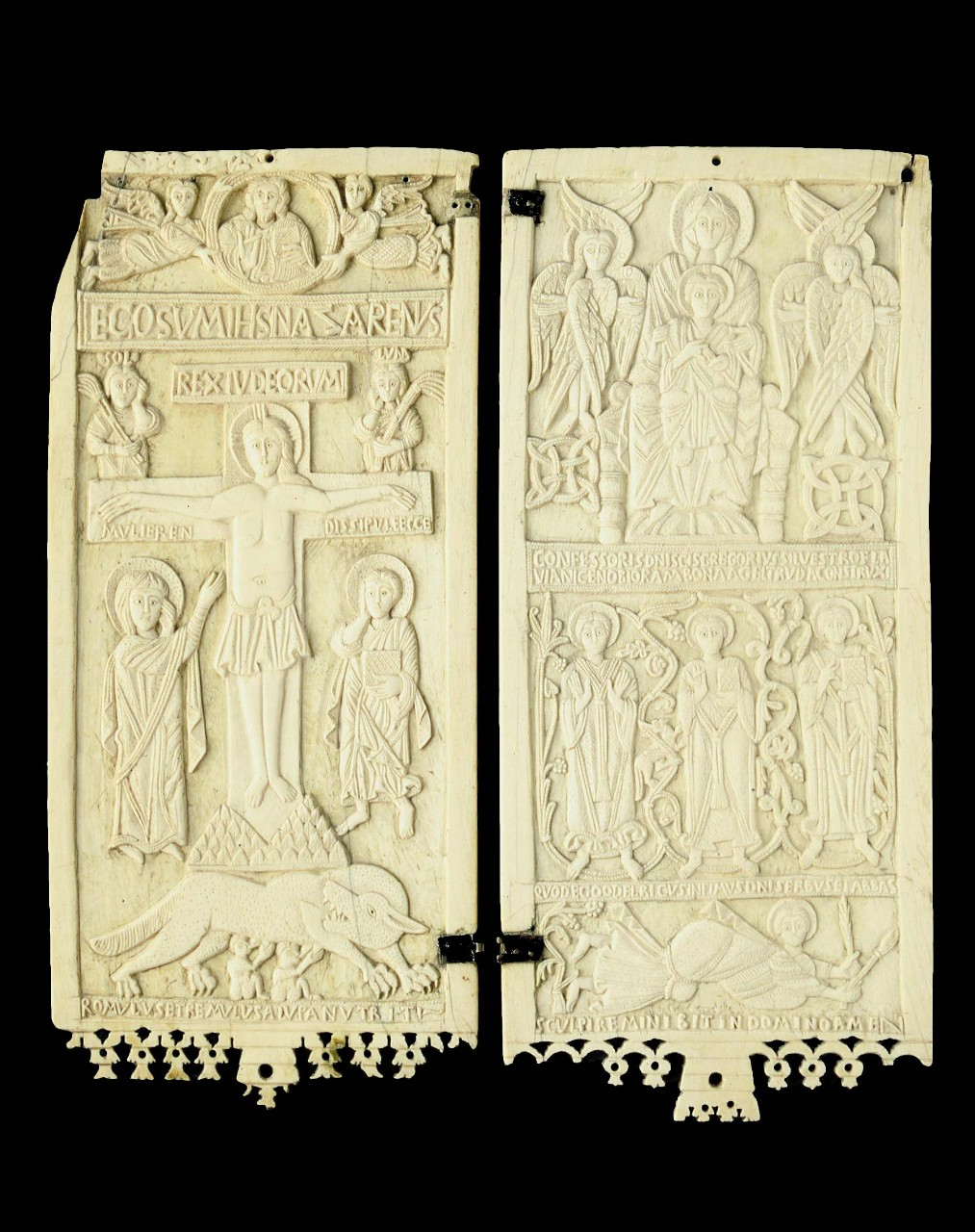 lombard artist diptych in ivory vatican museums