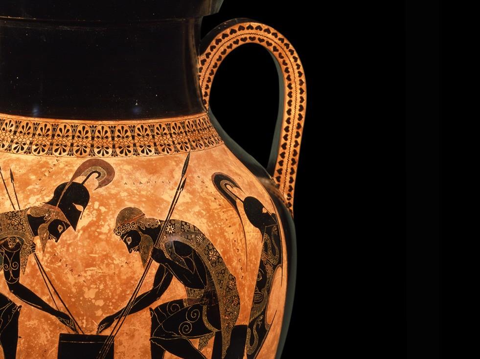 Attic Black Figure Amphora Signed By Exekias Vatican Museums