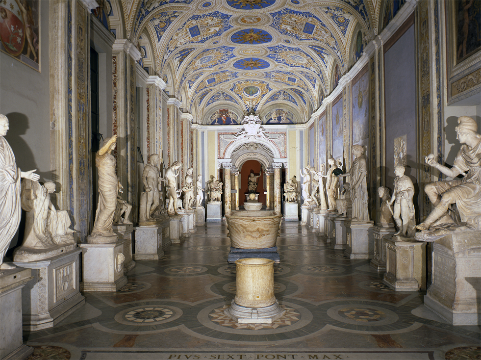 Gallery of Statues and the Hall of Busts