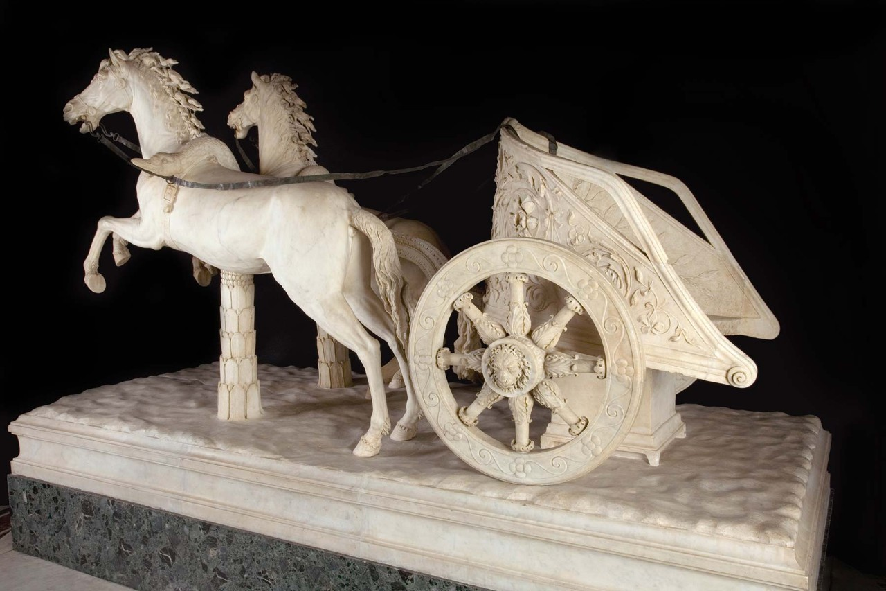 the two horse chariot vatican museums. Black Bedroom Furniture Sets. Home Design Ideas