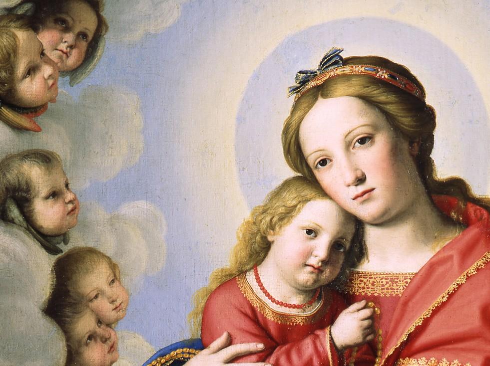 Sassoferrato Madonna And Child Vatican Museums