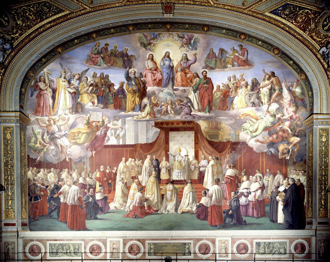 Francesco Podesti Proclamation Of The Dogma
