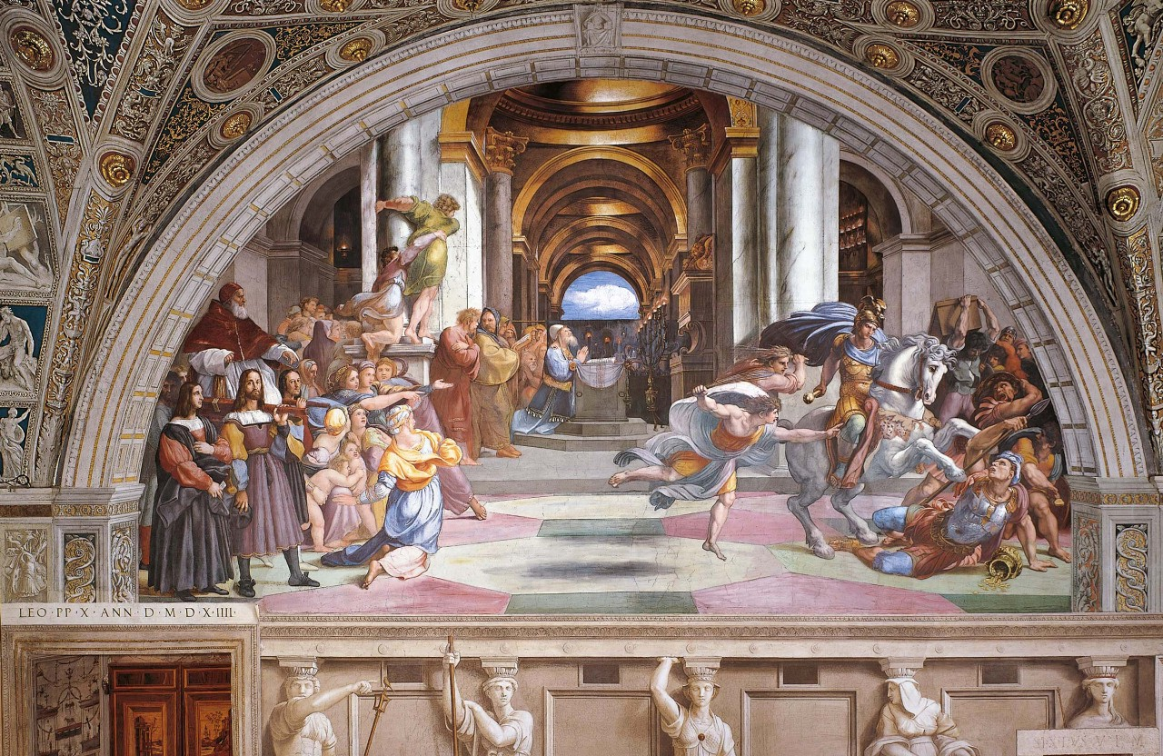 Expulsion Of Heliodorus From The Temple Vatican Museums
