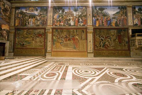 les tapisseries de rapha l dans la chapelle sixtine mus es du vatican. Black Bedroom Furniture Sets. Home Design Ideas