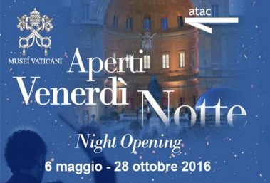 Atac and their subscribers invited to Vatican night openings