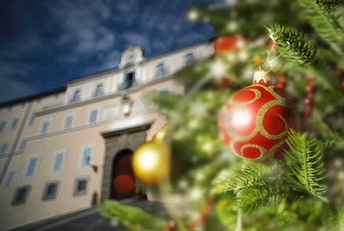 19 and 21 December the Pontifical Villas will be closed to the public