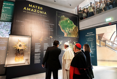 The Pope at the Vatican Museums