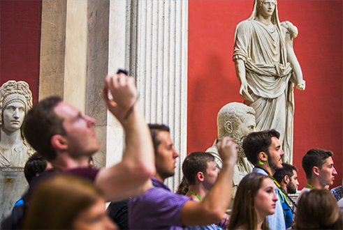 An even more special Sunday at the Vatican Museums