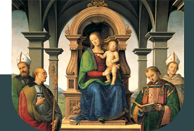 The magic of the Decemviri Altarpiece, recreated in Perugia
