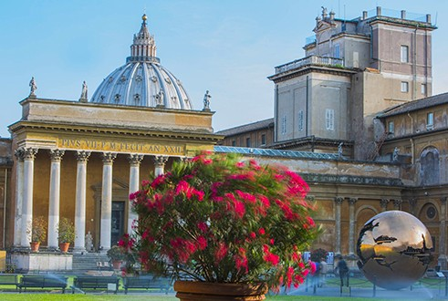 Vatican Museums and St. Peter's Basilica