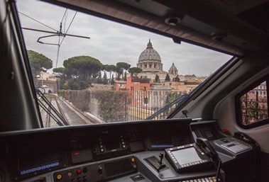 The Vatican by train