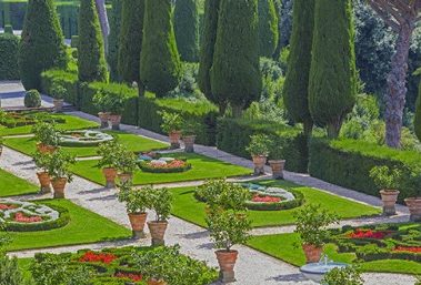 Villa Barberini and its Garden